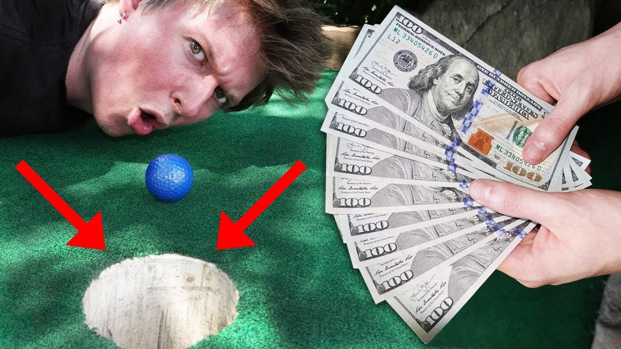 $1,000 CASH MINI GOLF CHALLENGE!!!