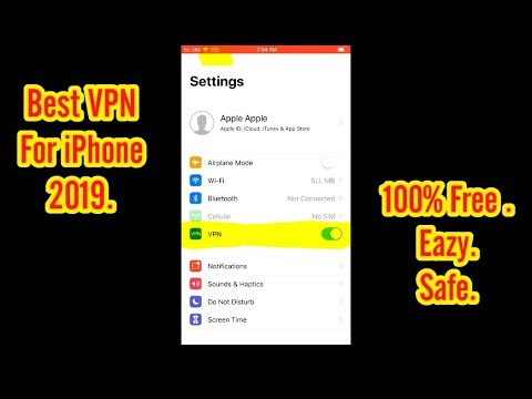 [2019] Free Unlimited VPN For IPhone IPad
