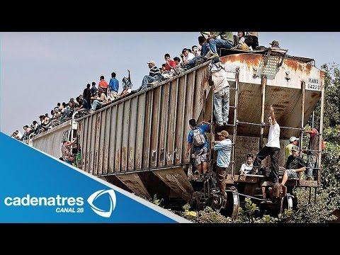 Tren 'La bestia' el peor enemigo de los migrantes /The Beast is the worst enemy of migrants