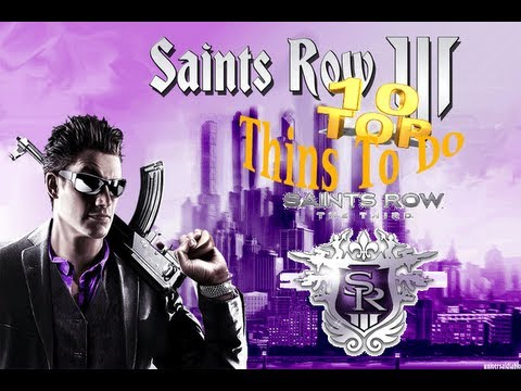 Top Ten things to do in saints row 3
