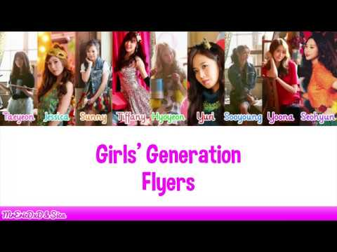 Girls' Generation (소녀시대): Flyers Lyrics