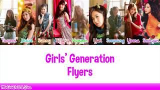 Gambar cover Girls' Generation (소녀시대): Flyers Lyrics