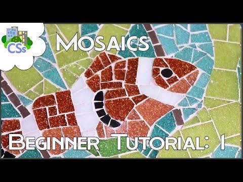Mosaics For Beginners: Tutorial 1 - Essential Tools