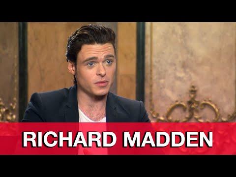 Richard Madden Cinderella Interview
