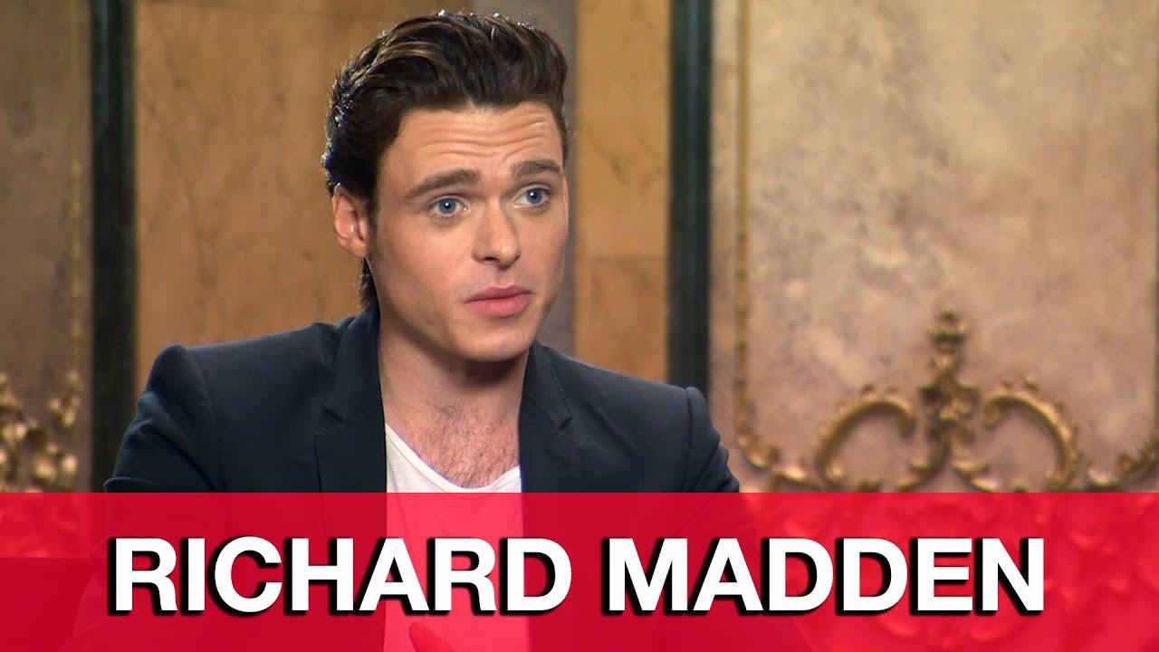 Richard Madden Cinderella Interview - YouTube