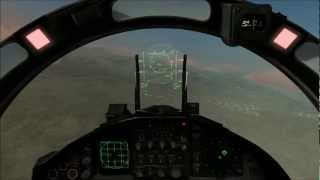 DCS: FC3 Flying with the Pros