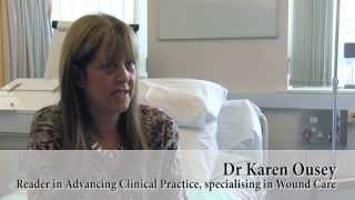 Dr Karen Ousey and the Skin Interface Science Research Group - University of Huddersfield