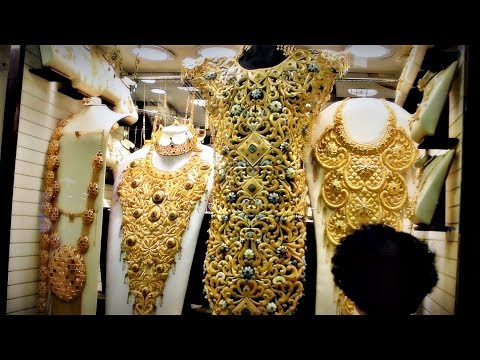 Dubai Gold Market (Gold Souk) - 2017