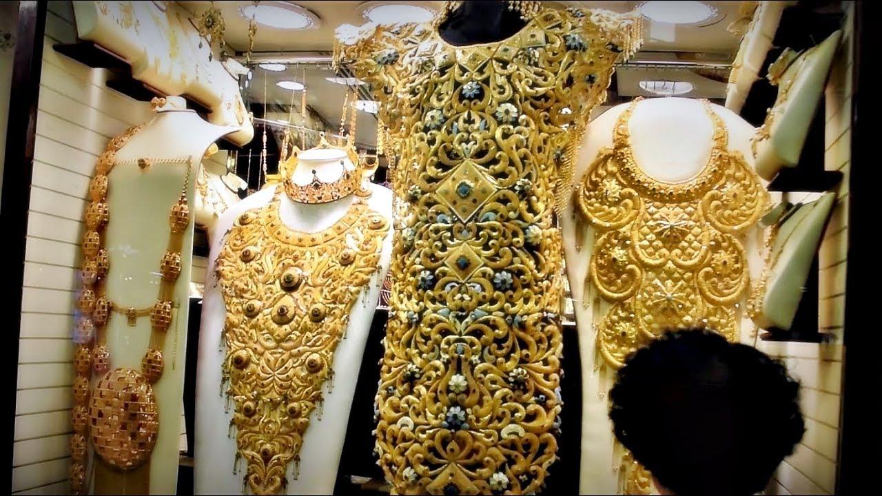 Dubai Gold Market Gold Souk 2017 Youtube