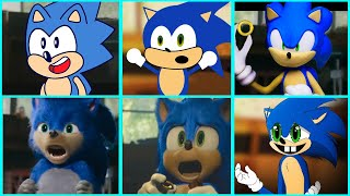 Sonic The Hedgehog Movie - Uh Meow All Designs Compilation 3