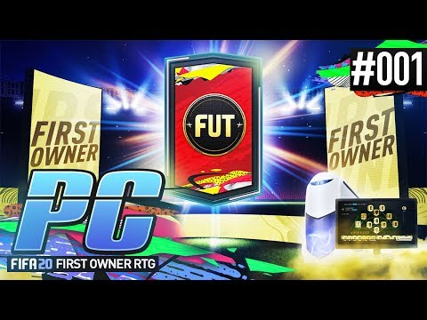 BRAND NEW FIRST OWNER PC ROAD TO GLORY! - PC ROAD TO GLORY Ep.01 #FUT20 Ultimate Team