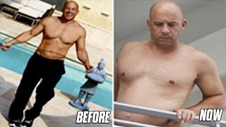vin diesel stopped working out you won t believe how fat he looks now