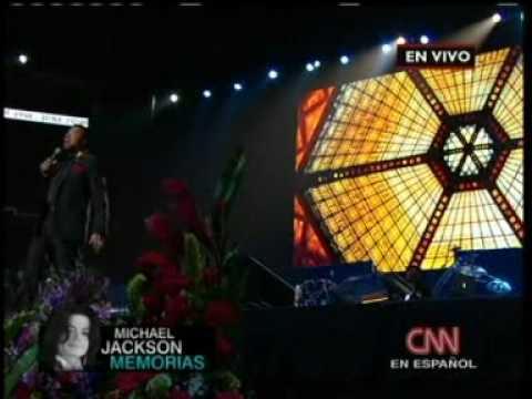 LIONEL RICHIE - Jesus is Love - MICHAEL JACKSON MEMORIAL