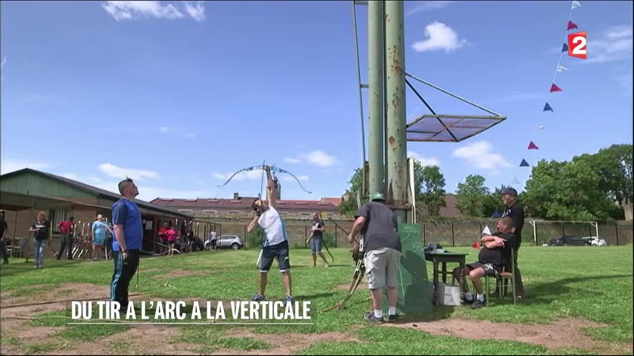 Dr le de sport du tir l arc la verticale 2016 08 for A la verticale du jardin grenoble