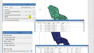 QGIS 10 구별공원면적 Dissolve Join Area Instersect