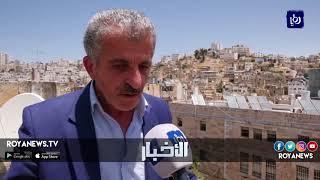 انتهاكات من قبل المستوطنين بحق سكان تل ارميدة في الخليل - (5-7-2018)