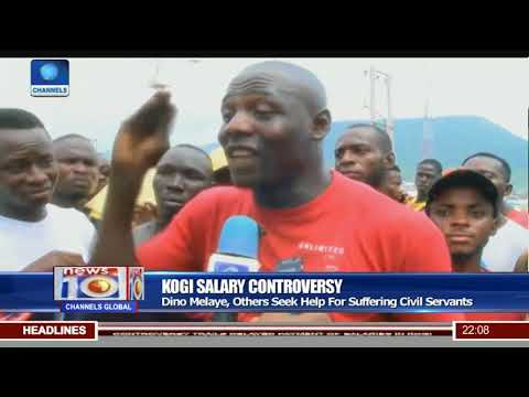 Youth Protest Against Donation Of Food By Senator Melaye
