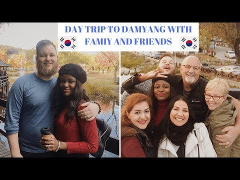 KOREA  TRAVEL VLOG   FUN DAY TRIP TO DAMYANG WITH THE FAMILY AND FRIENDS