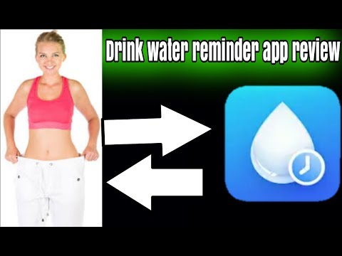 Drink Water Reminder App Full Review || Loss Your Weight
