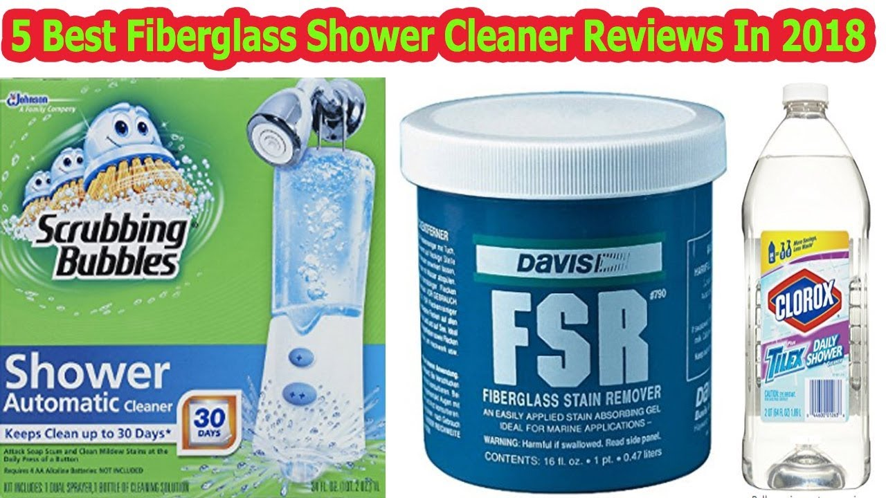 TOP 5 Best Fiberglass Shower Cleaner Reviews In 2018 - YouTube
