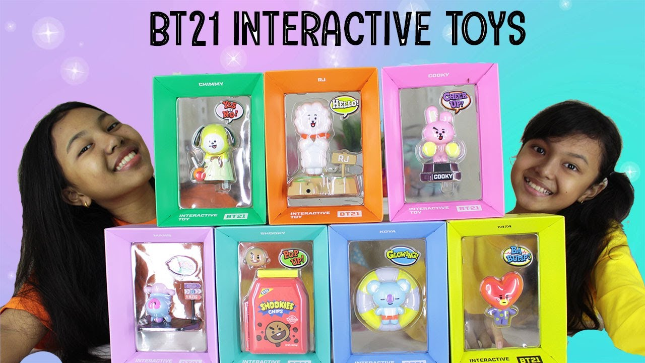 BT21 Interactive Toys Unboxing