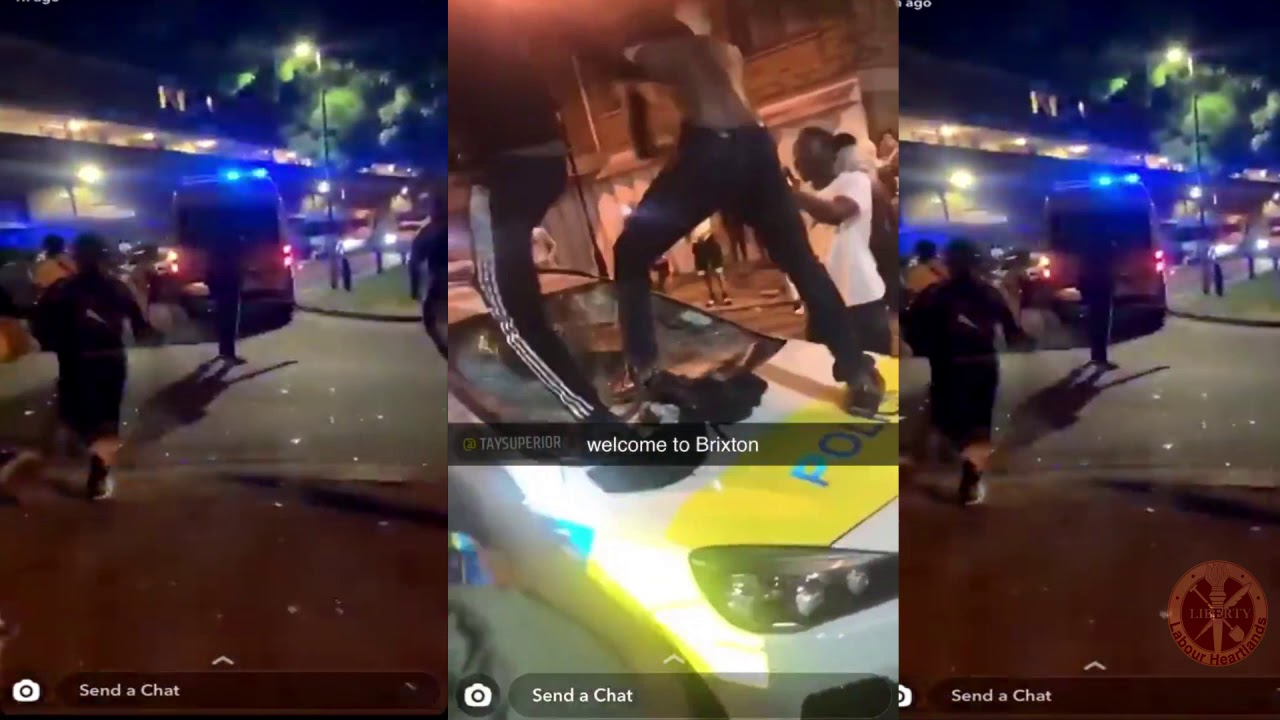 Brixton violence - 22 officers injured