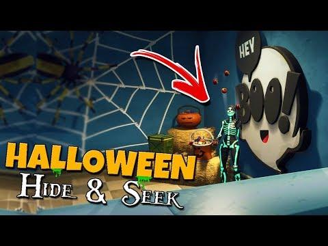 Halloween Hide and Seek tegen vriendin! 👻 - Fortnite Mini-game