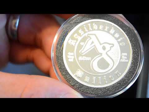 AgSilverdojo Bullion Silver Skull 2016 1 Oz. .999 Fine Coin