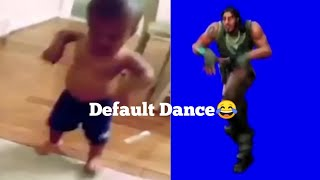 Fortnite Default Dance BASS BOOSTED x Big head baby
