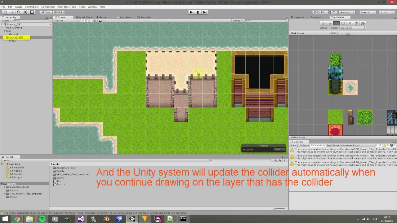 Unity3d rpg maker tilemap set impoter tile map collider level editor unity3d rpg maker tilemap set impoter tile map collider level editor word building gumiabroncs Gallery