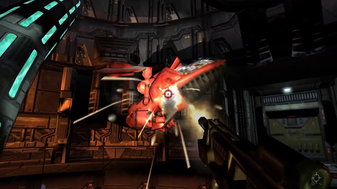 Quake 4 Walkthrough Part 13 no commentary