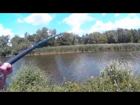 Fishing With A 13' Telescopic Fixed Line Fishing Pole