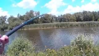 Риболовля з 13' телескопічні фіксованого вудка