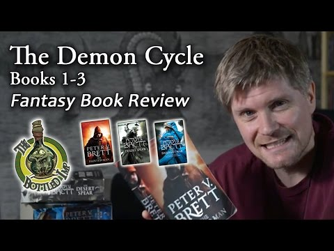 Fantasy Book Review: 'The Demon Cycle' by Peter V. Brett.