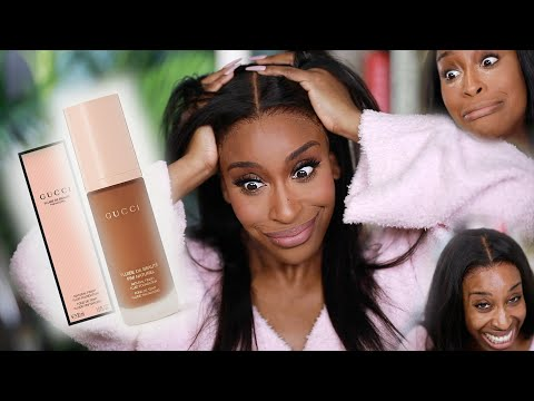 No But...Did Gucci Beauty Finesse Me?! Their New Foundation Review - Jackie Aina
