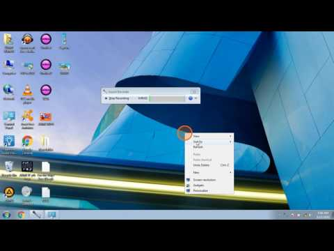 How to record voice in windows 7 in Hindi