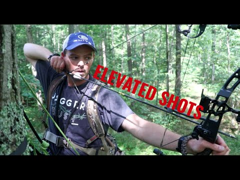 Saddle PRACTICE And Shooting From A Treestand