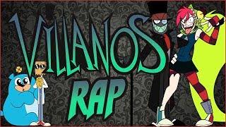 VILLANOS RAP - Villainous (Black Hat, Demencia, Dr. Flug y 5.0.5) | Zoiket