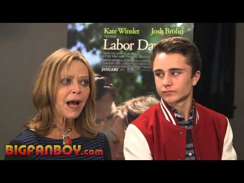 LABOR DAY interview with author Joyce Maynard and actor Gattlin Griffith