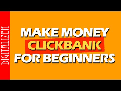 How To Make Money On Clickbank For Beginners 2020