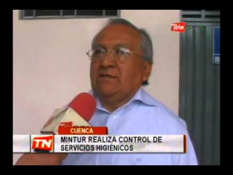 Mintur realiza control de servicios higiénicos