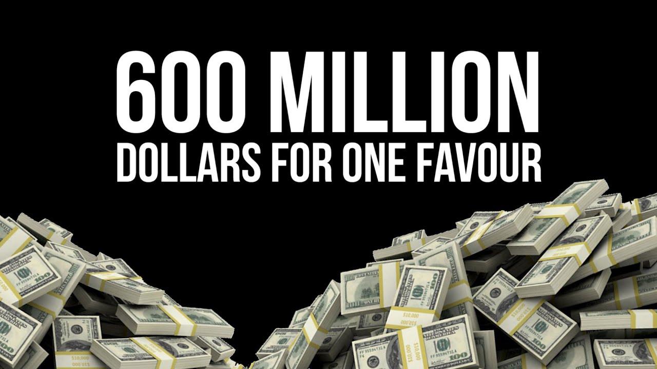 600 million dollars for one favour powerful reminder youtube. Black Bedroom Furniture Sets. Home Design Ideas
