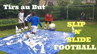 Tirs au But - Slip 'N' Slide Football Penalties | K-Boyz TV