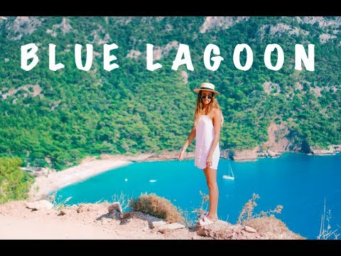 WE FOUND THE BLUE LAGOON IN TURKEY!!