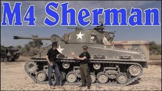 All the Guns on an M4 Sherman Tank (with Nicholas Moran, the Chieftain)