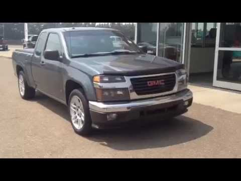 pre owned 2007 gmc canyon sle for sale in medicine hat youtube. Black Bedroom Furniture Sets. Home Design Ideas