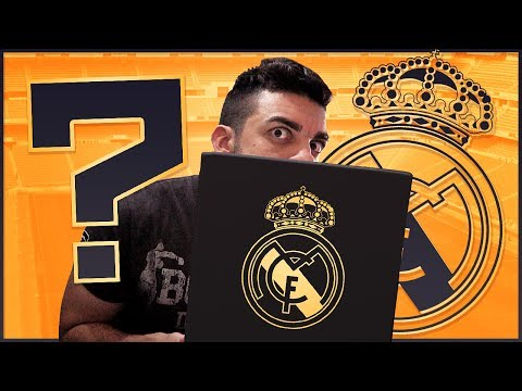 UNBOXING DEL REAL MADRID