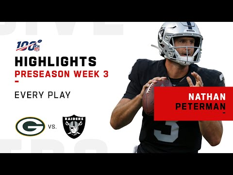 Every Nathan Peterman Play vs. Packers | NFL 2019 Highlights