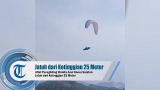 Atlet Paragliding Wanita Asal Korea Selatan Jatuh dari Ketinggian 25 Meter