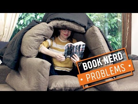 Finding the Perfect Reading Position | Book Nerd Problems